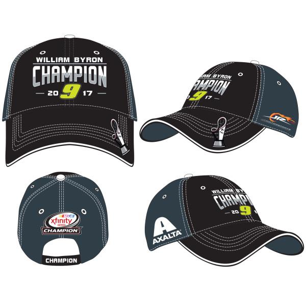 91036276726 2017 William Byron XFINITY Adult Championship Victory Hat