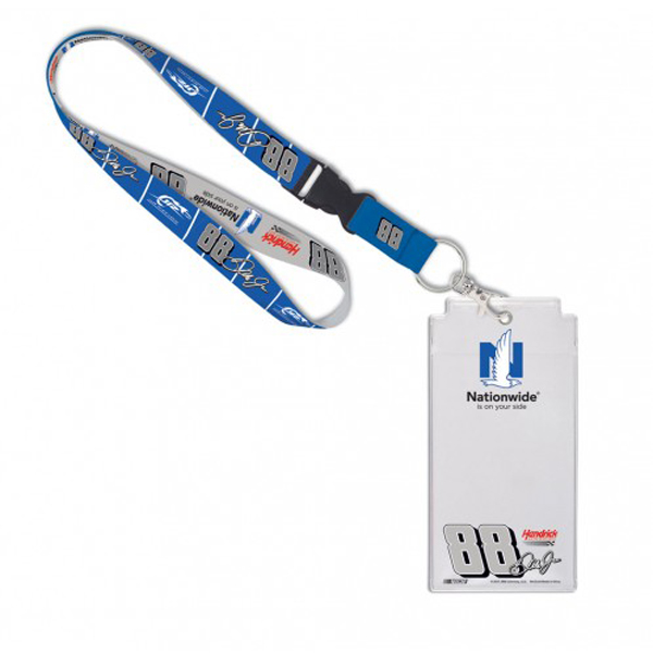 Dale Earnhardt Jr Nationwide Credential Holder with Lanyard
