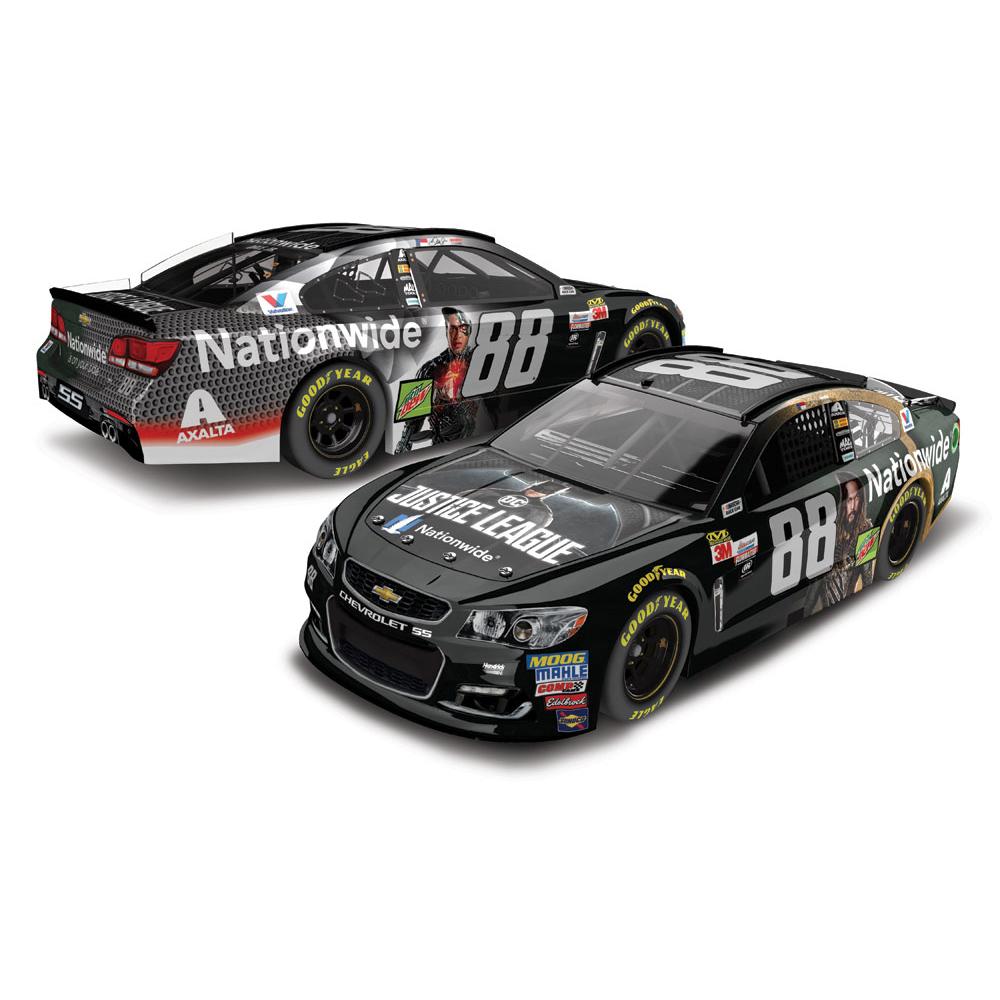 Dale Earnhardt, Jr. 2017 NASCAR Cup Series No. 88 Nationwide Justice League 1:24 Die-Cast