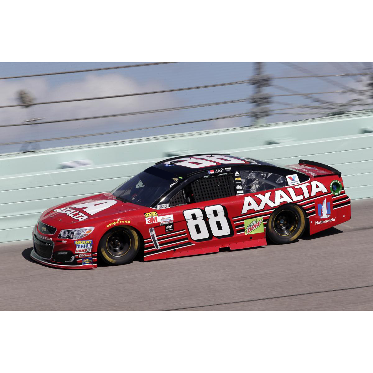 Dale Earnhardt, Jr. 2017 NASCAR Cup Series No. 88 Axalta Last Ride Homestead Raced 1:24 Die-Cast