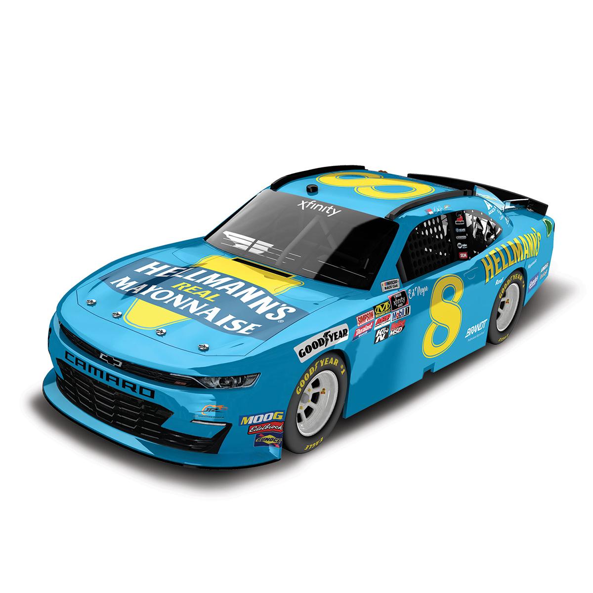 Dale Earnhardt Jr. 2019 #8 NASCAR Hellmann's 1:64 Die Cast