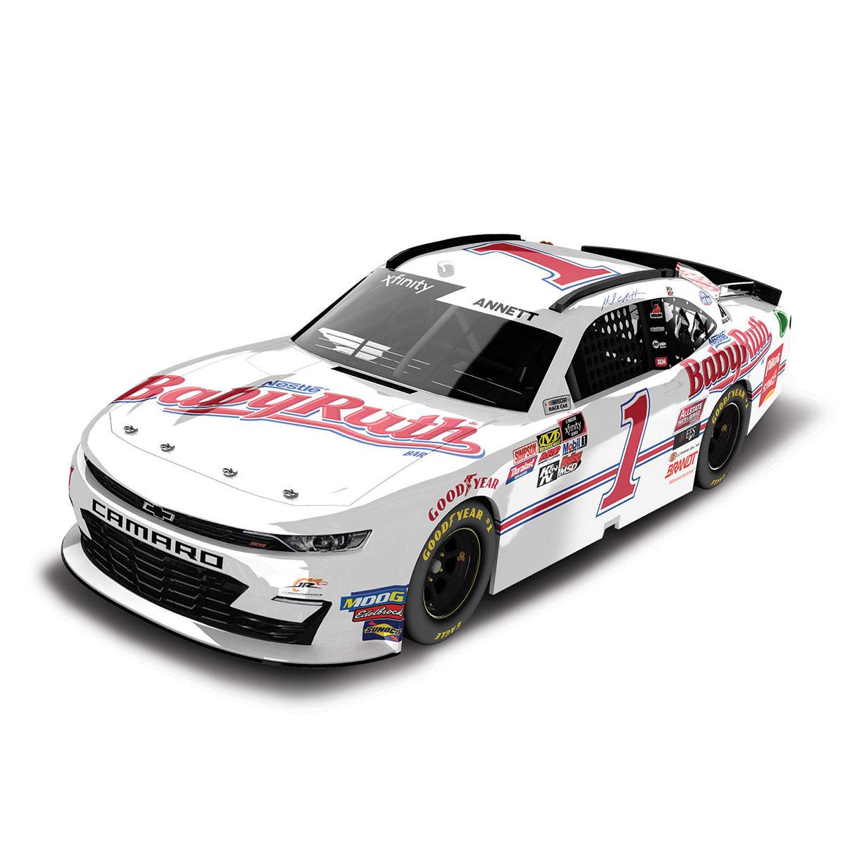 Michael Annett #1 NASCAR 2019 Baby Ruth 1:64 Die Cast