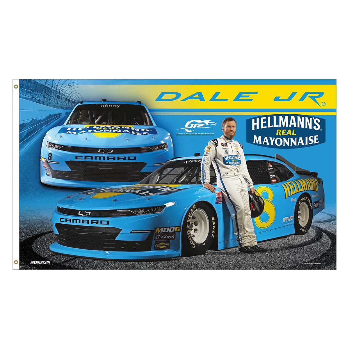 Dale Jr. # 8 Darlington 3x5 Deluxe Flag