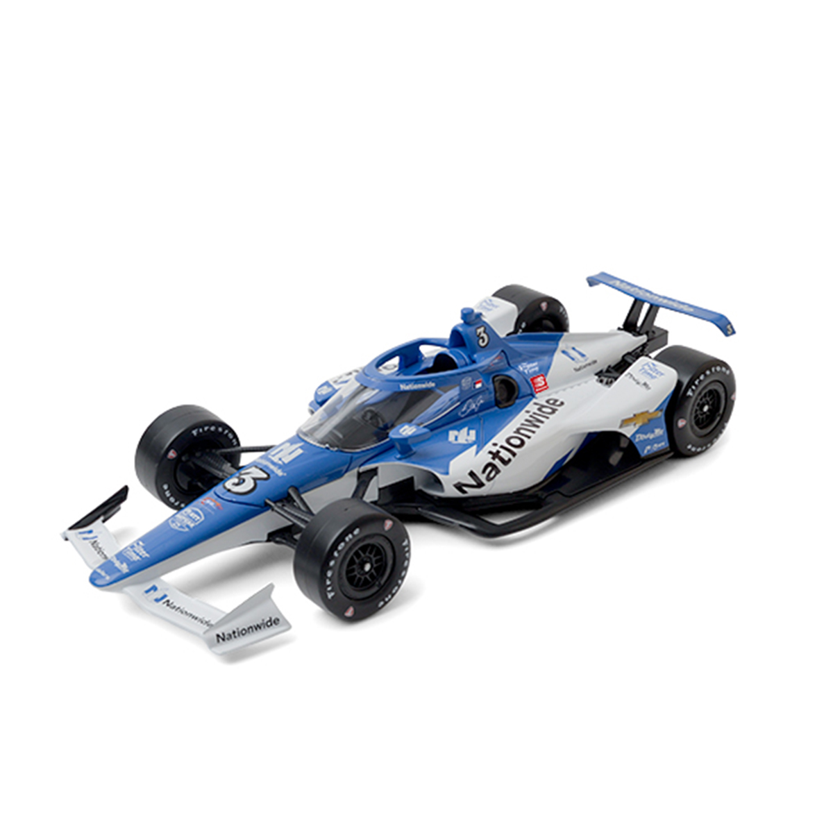 Dale Earnhardt Jr #3 2020 iRacing IndyCar Nationwide 1:64 DieCast
