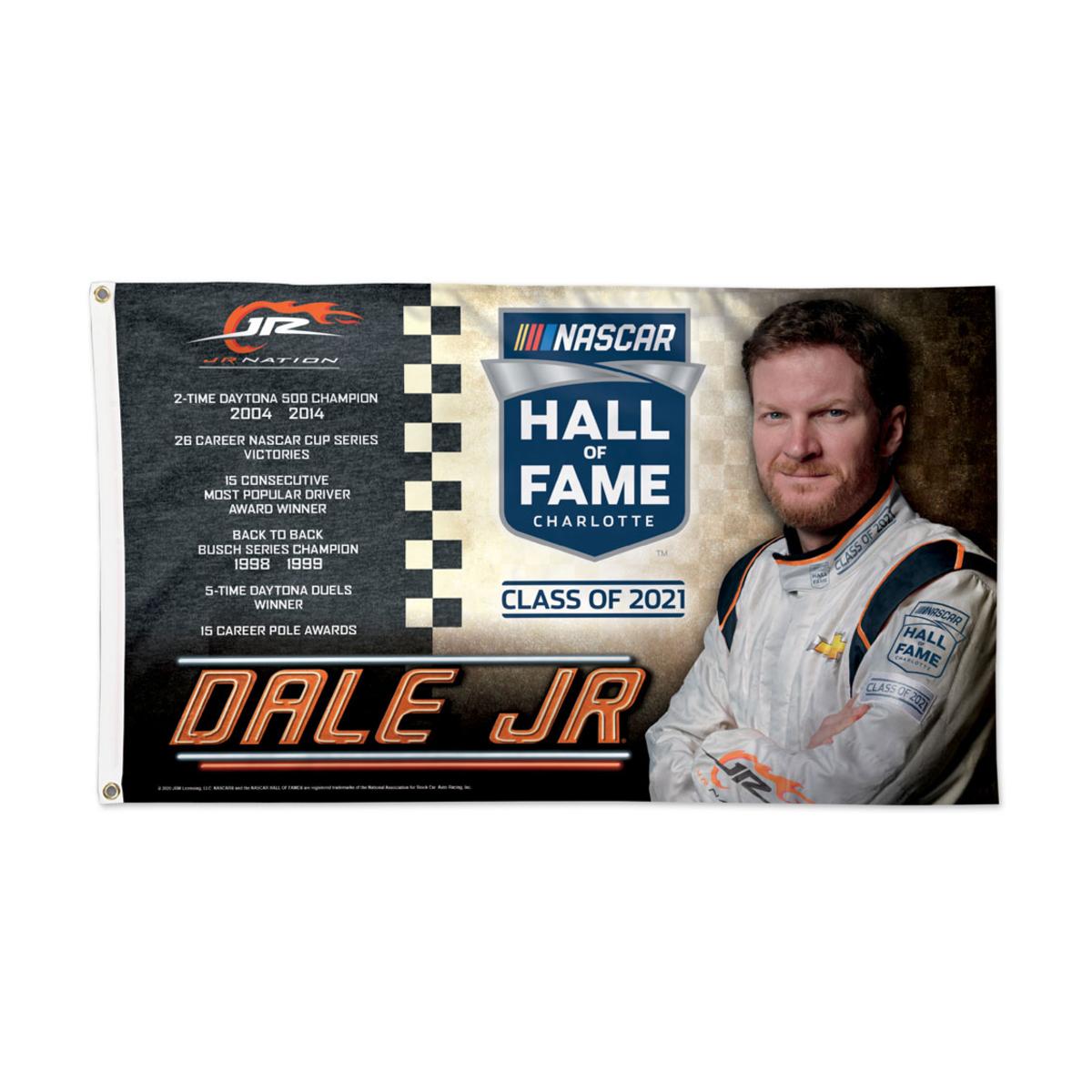 Dale Jr 2021 NHOF Inductee 3' x 5' Flag