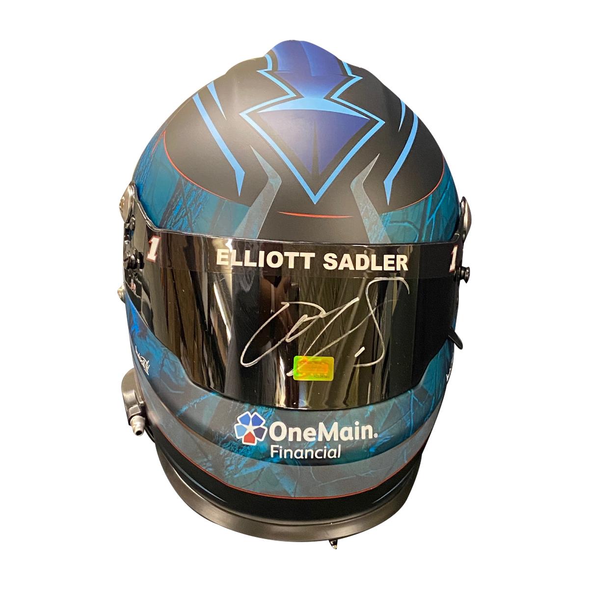 JR Motorsports #1 Replica Helmet - Elliott Sadler