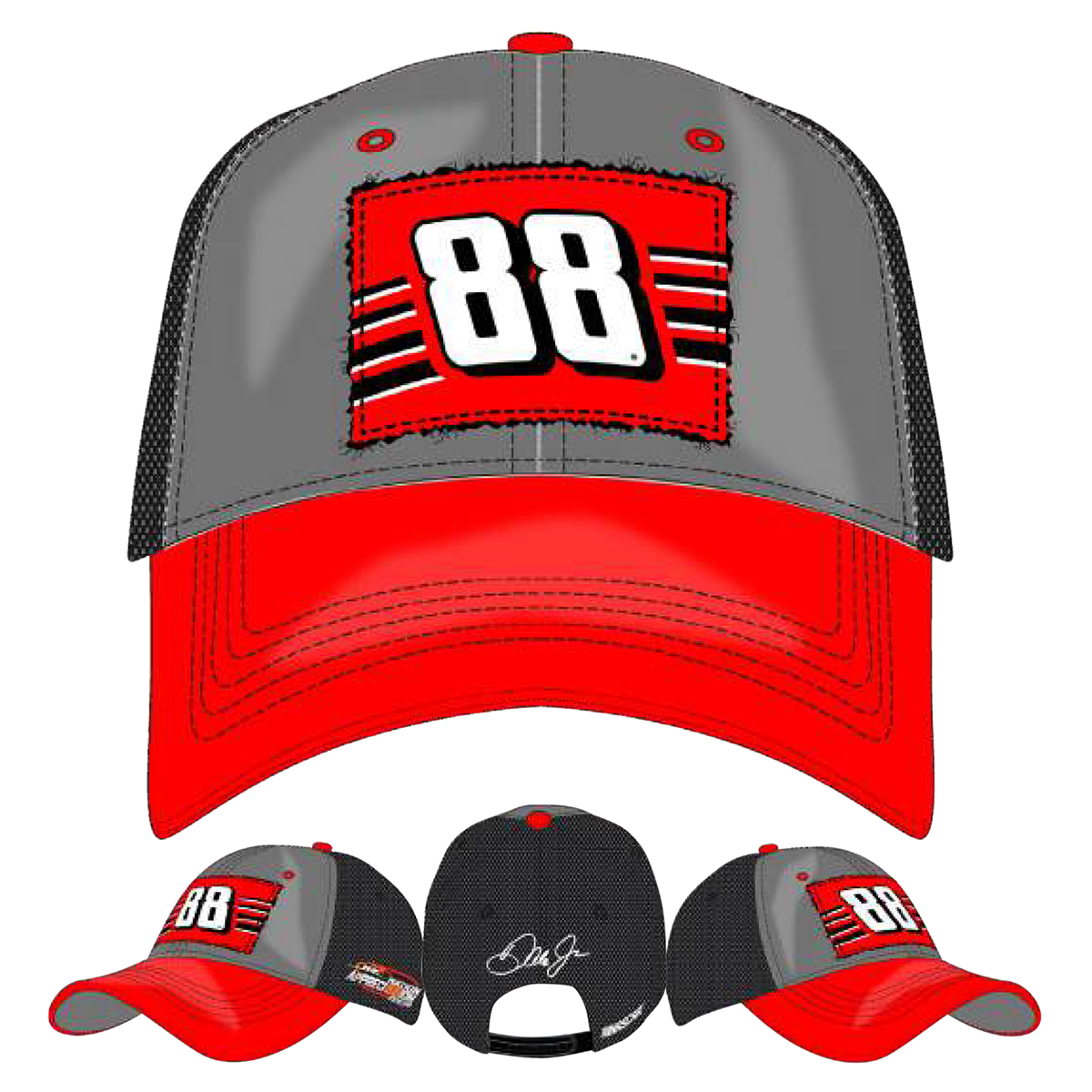 Dale Jr #88 2017 Homestead/Miami Axalta Ladies Hat