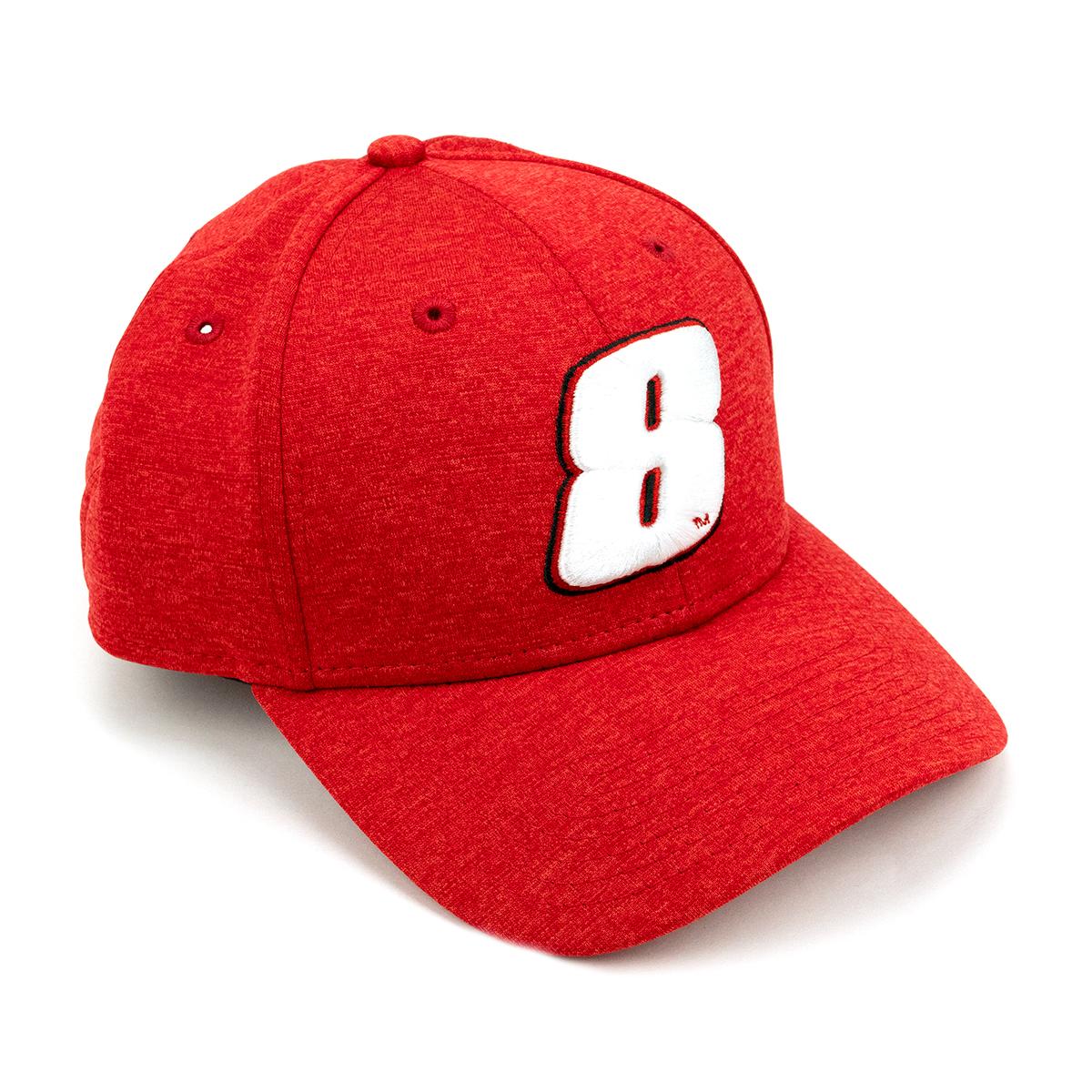 Dale Earnhardt Jr. #8 NASCAR Red New Era Hat
