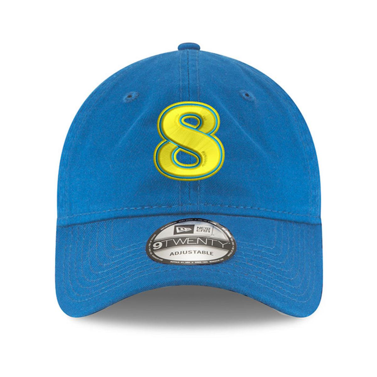 Dale Jr. Stylized #8 2019 Blue Hat from New Era