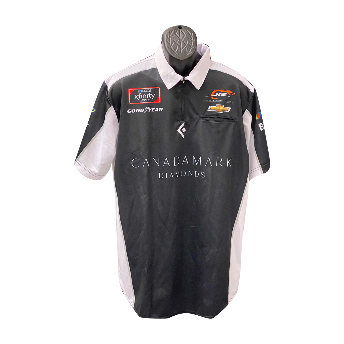 JRM Crew Shirt 2019 Black - Canadamark Diamonds #8