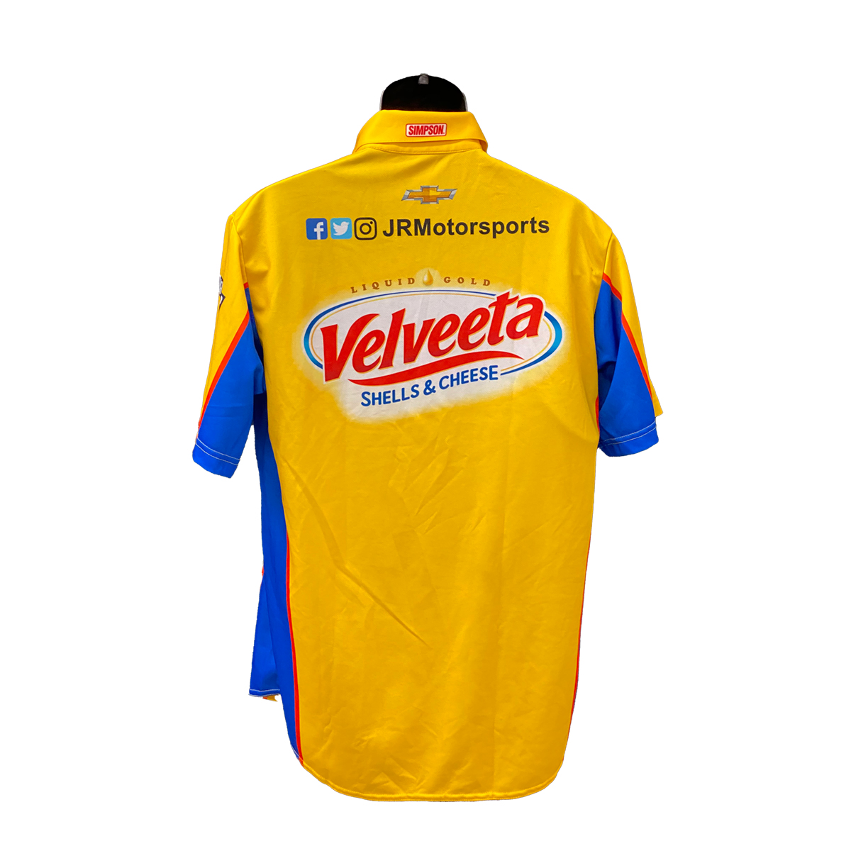 JRM Crew Shirt 2019 RACE USED - Velveeta #8