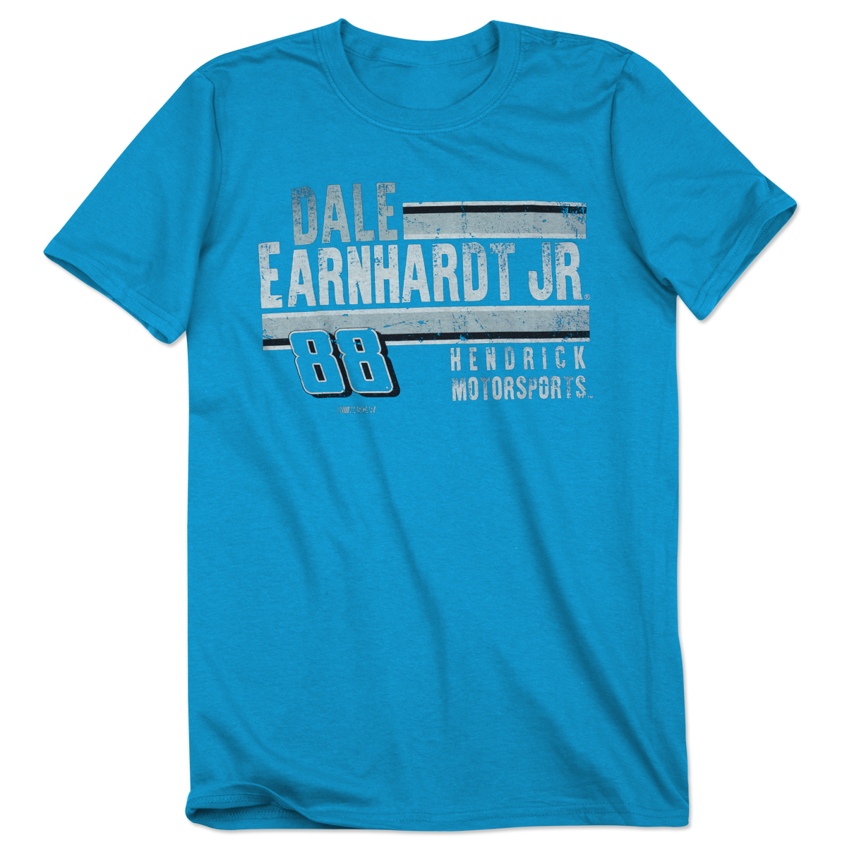 Dale Jr. #88 Adult Polyester T-Shirt Heathered