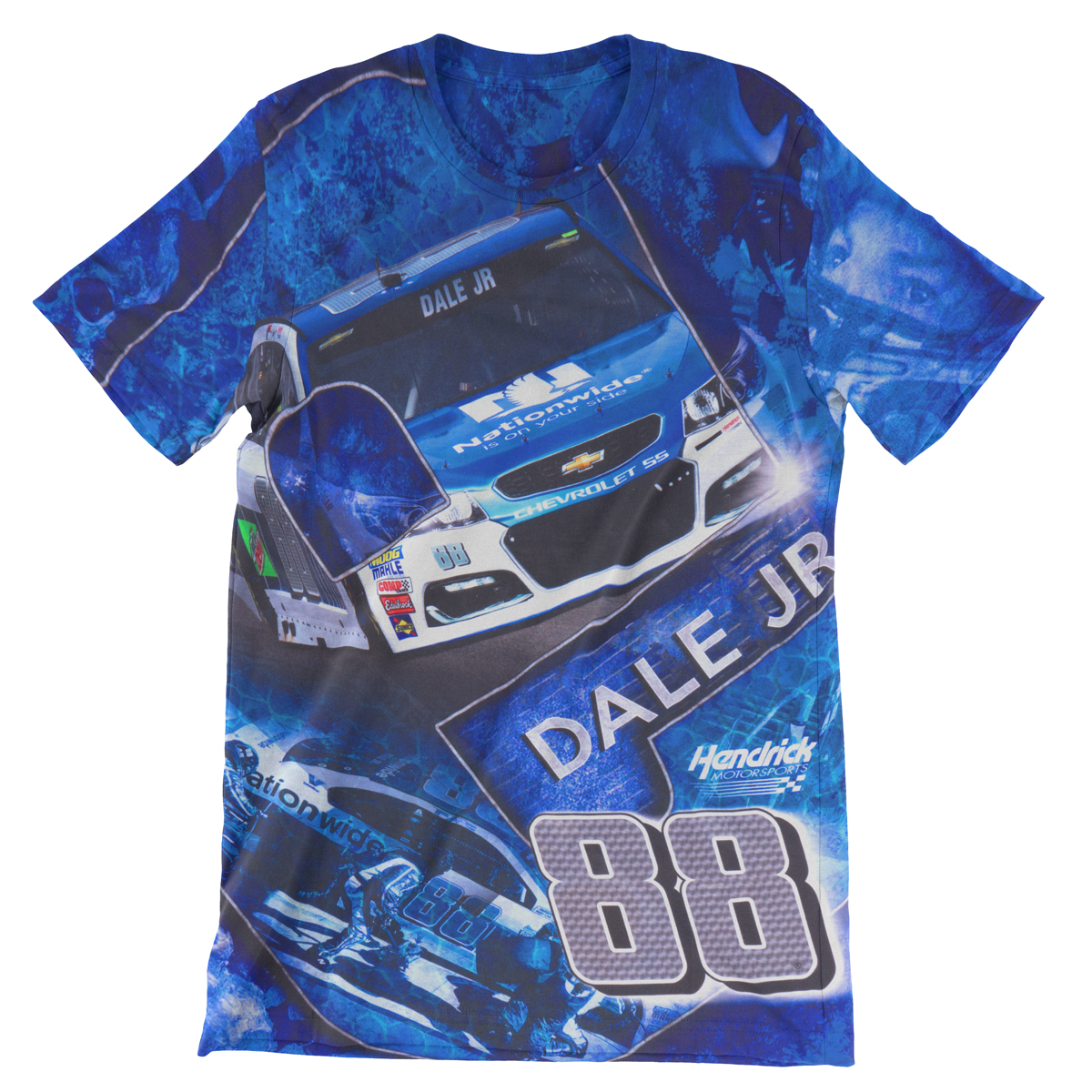 Dale Earnhardt Jr Total Print T-shirt