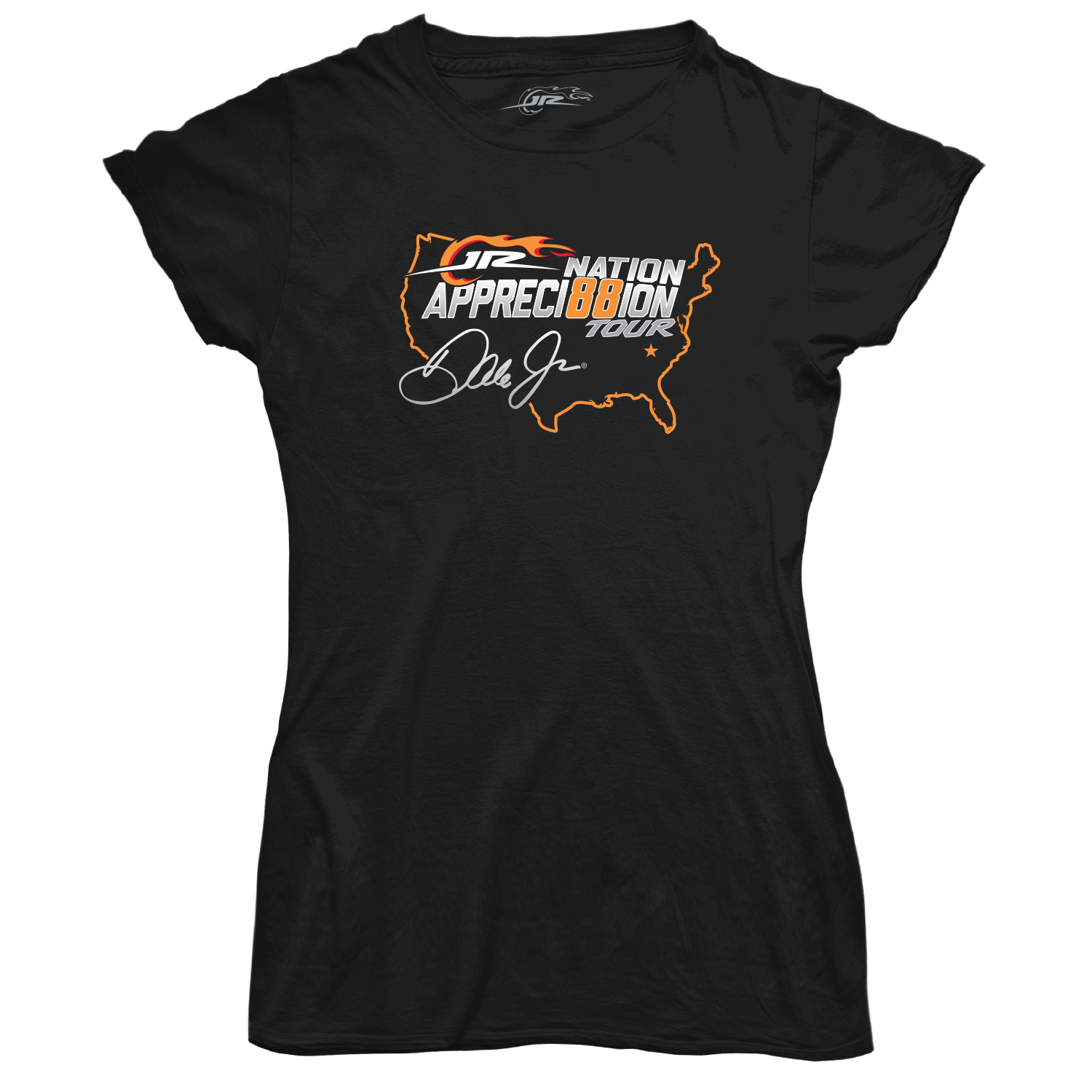JR Nation Appreci88ion Tour Ladies T-shirt