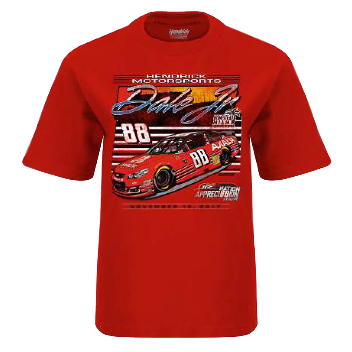 Dale Jr #88 2017 Homestead/Miami Axalta Youth Car T-shirt