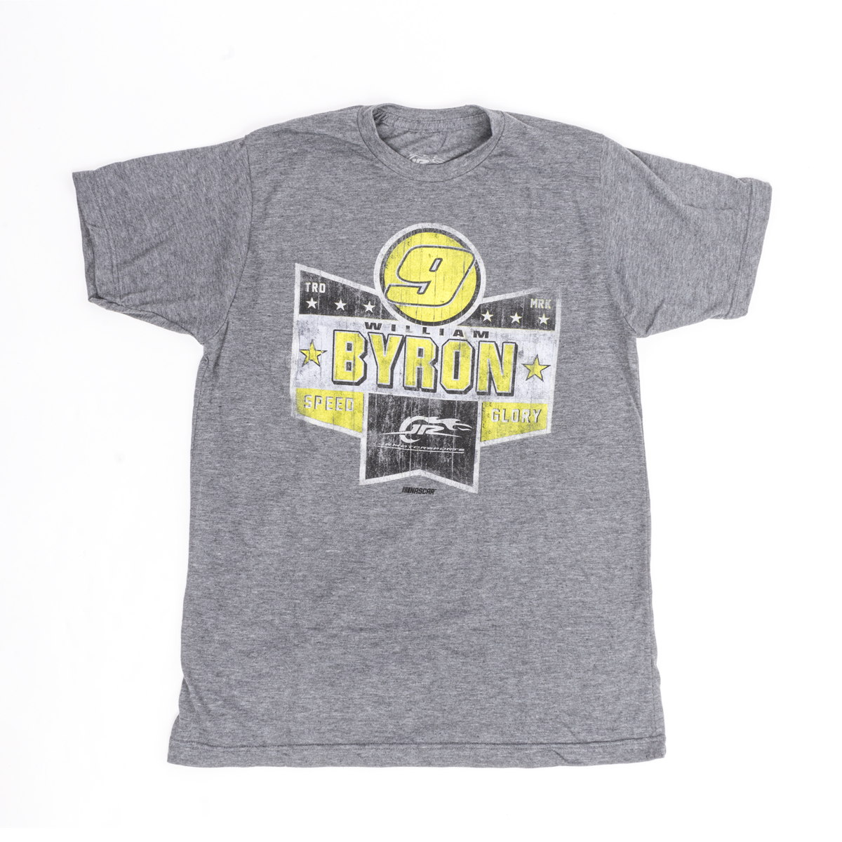 William Byron #9 JRM Speed Glory Youth T-shirt