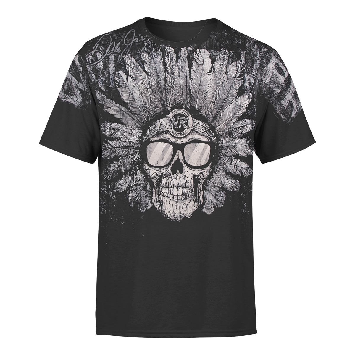 Whisky River 2018 Funky Chief Total Print T-shirt