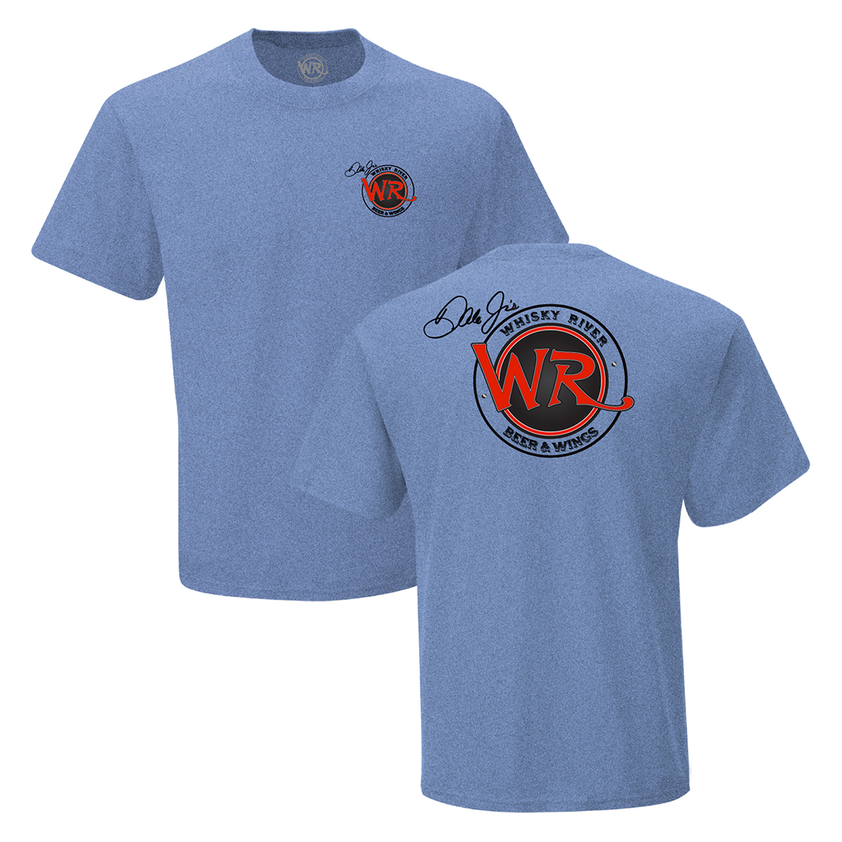 Whisky River T-shirt - Heather Blue