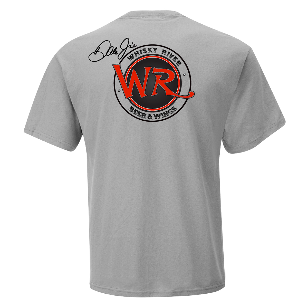 Whisky River T-shirt - Heather Grey