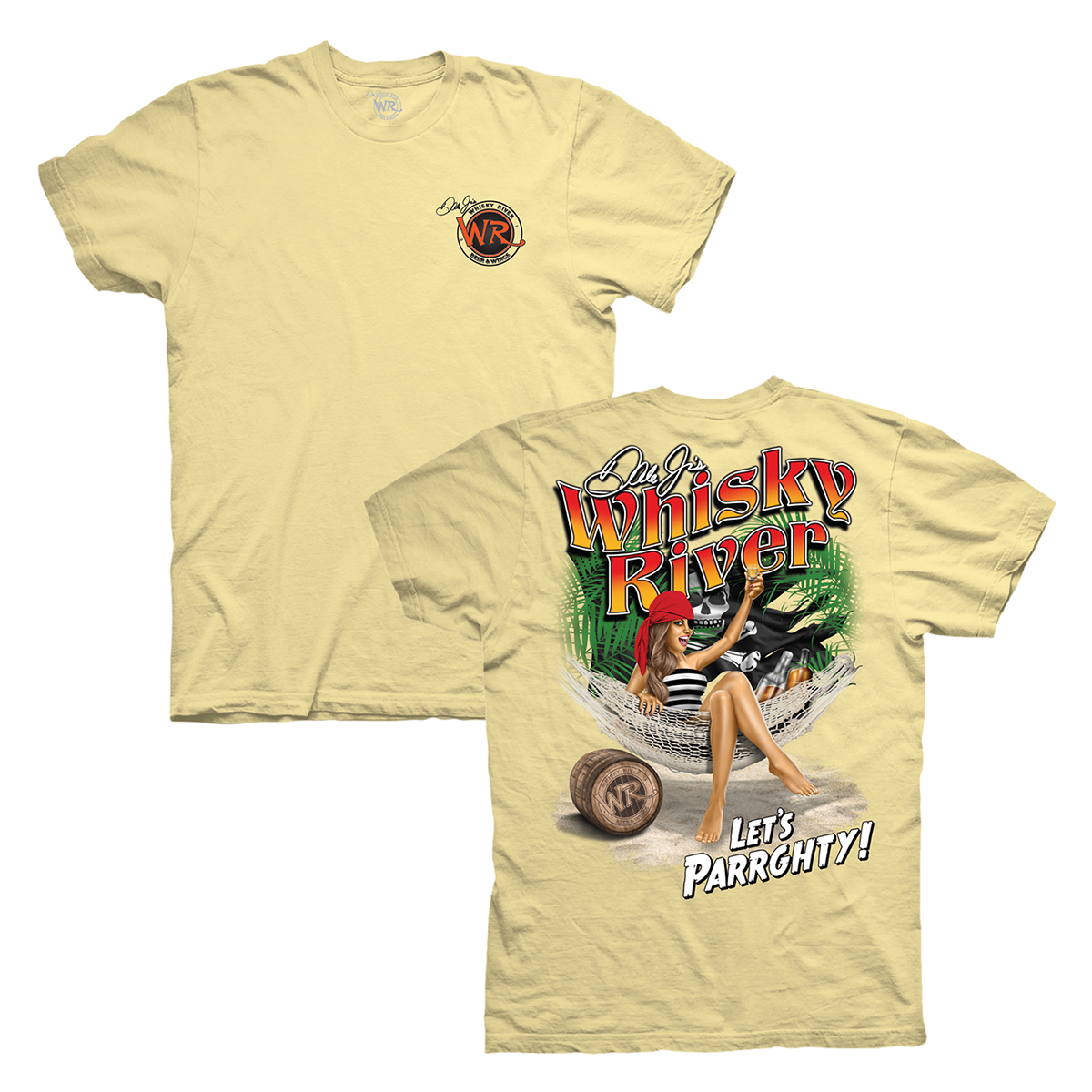 Whisky River Parrghty PinUp T-shirt