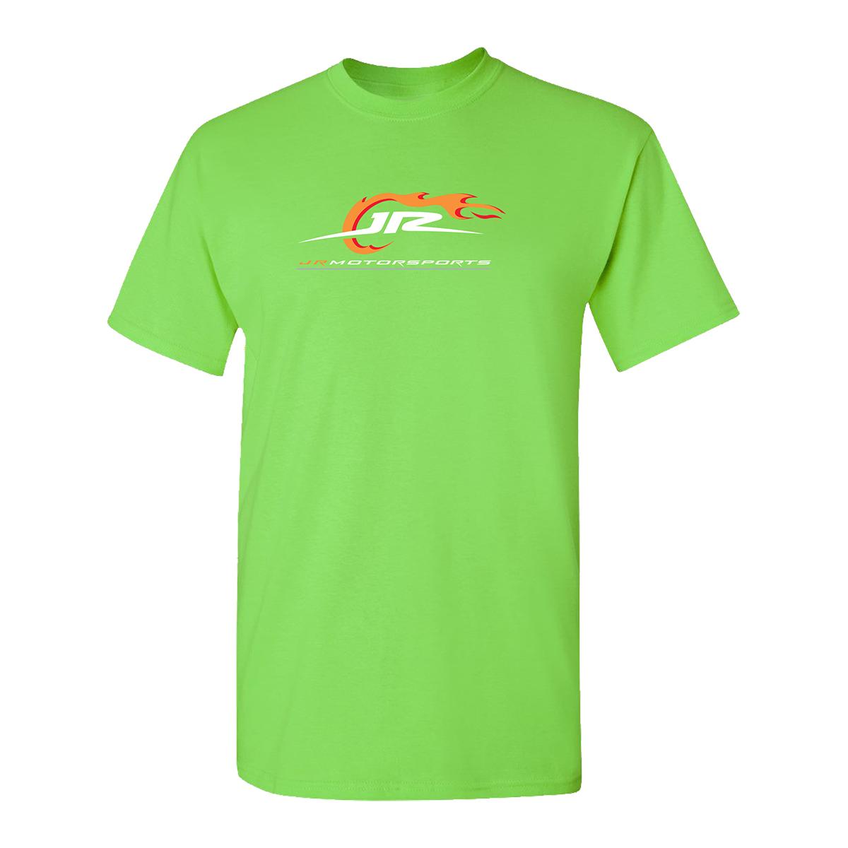 2019 NASCAR Jr. Motorsports Speed Never Sleeps Green T-shirt