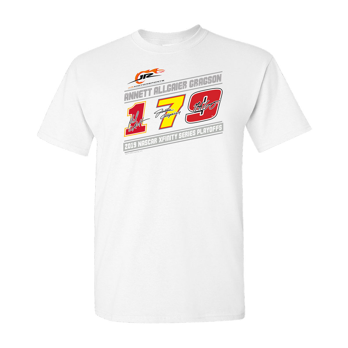 JR Motorsports 2019 Playoff T-shirt