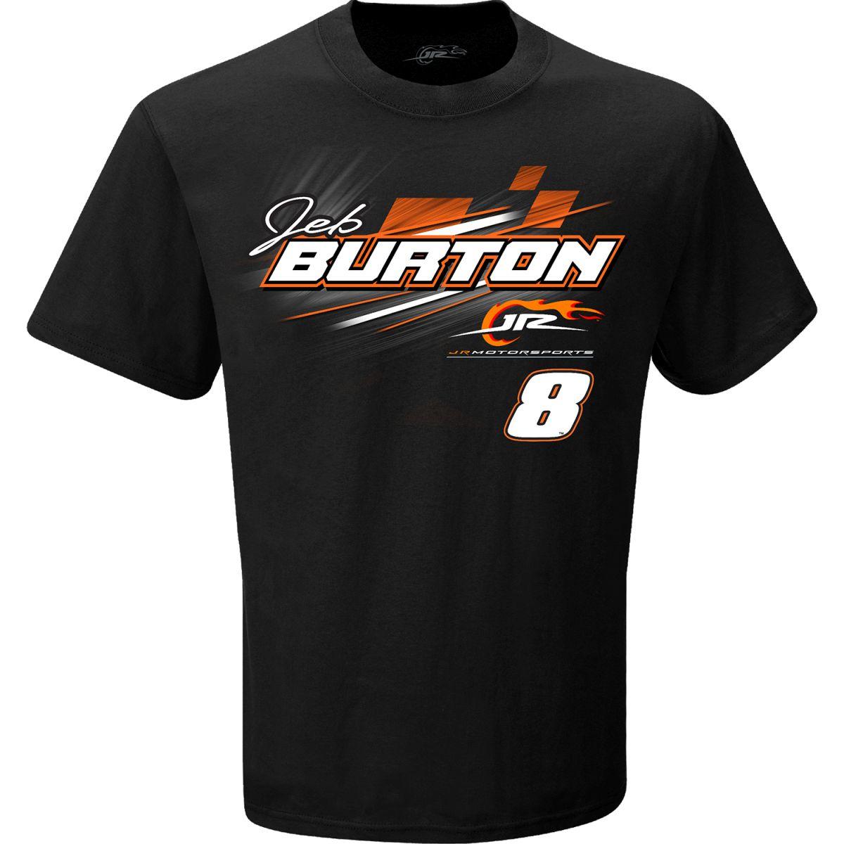 Jeb Burton #8 State Water Heaters Black T-shirt