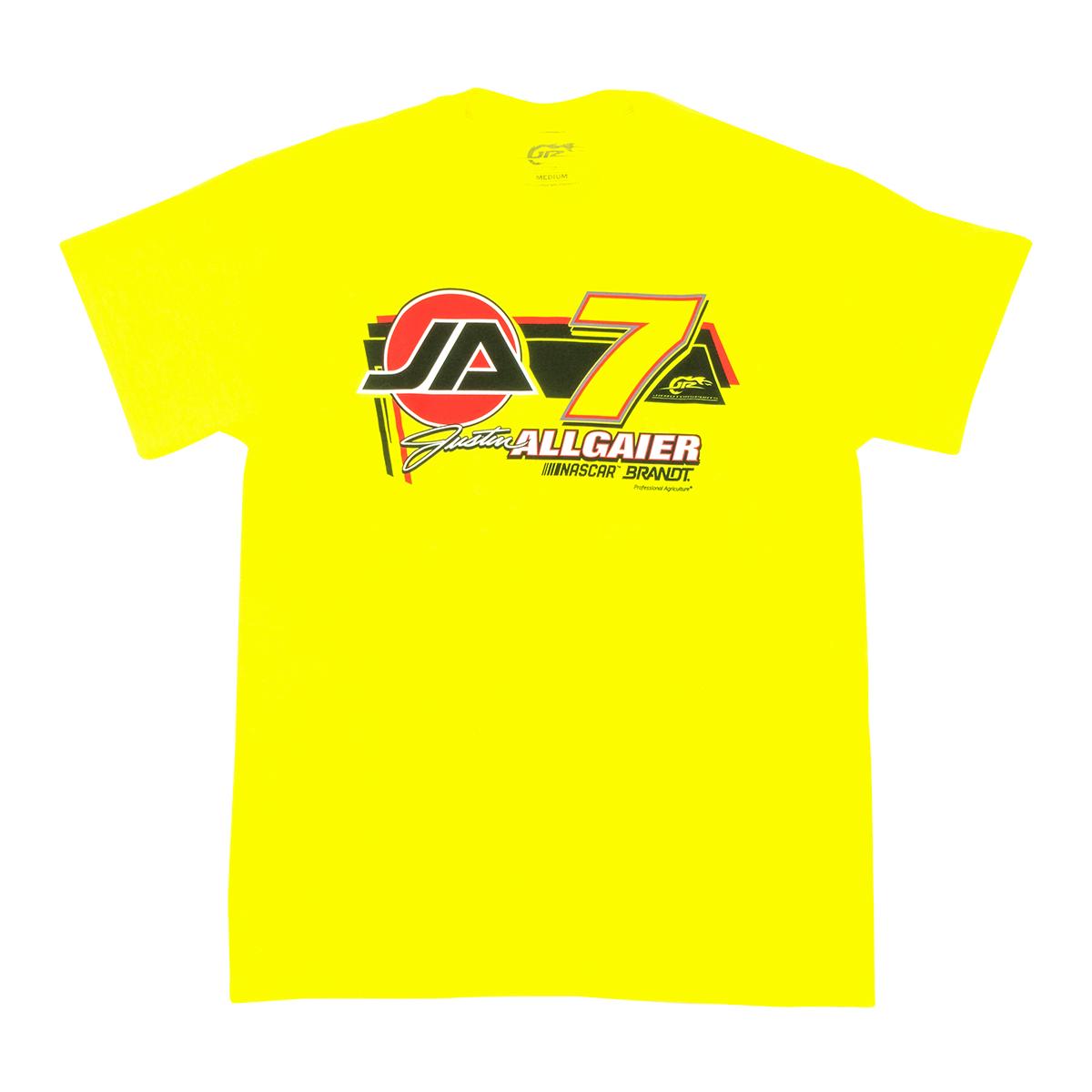 Justin Allgaier #7 2020 Brandt T-shirt