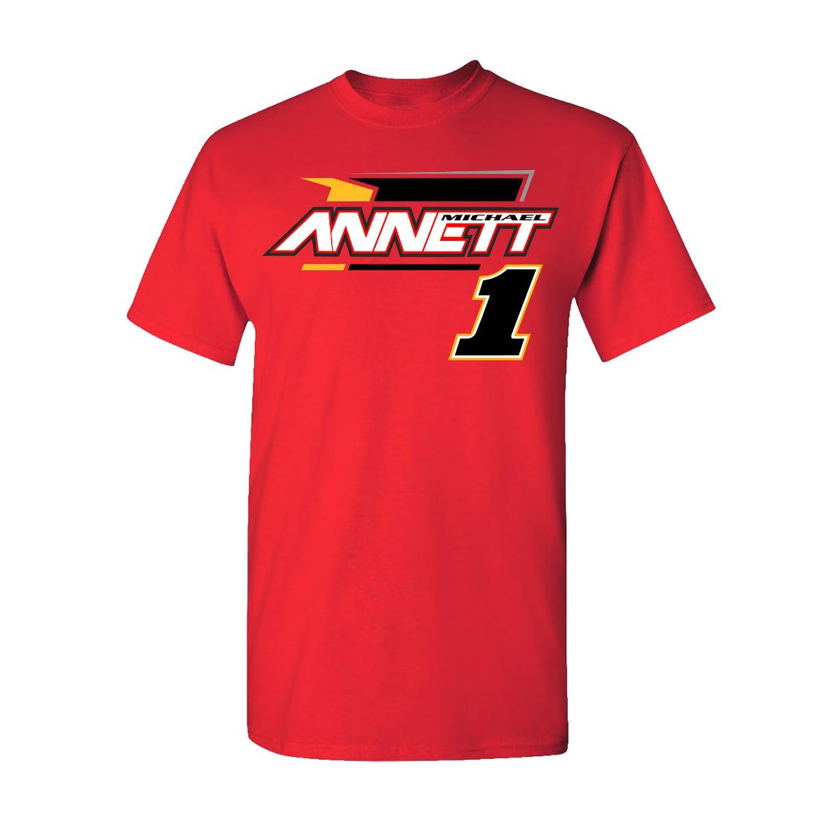 Michael Annett #1 2020 Pilot / Flying J Car T-shirt