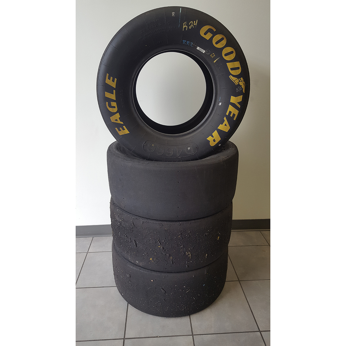 JR Motorsports #1 Race Used Tire