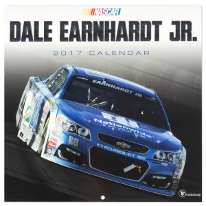 "Dale Jr. #88 2017 12""x 12"" Wall Calendar"