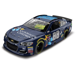 Dale JR. #88 Nationwide Children's Hospital Autographed 1:24 NASCAR XFINITY Series Die-Cast