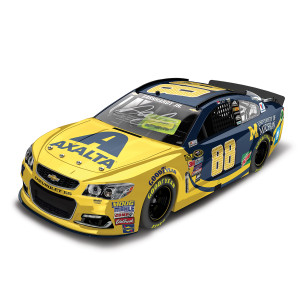 Dale Jr. Autographed 2016 #88 Axalta Coating Systems / University of Michigan Nascar Sprint Cup Series 1:24 Die-Cast
