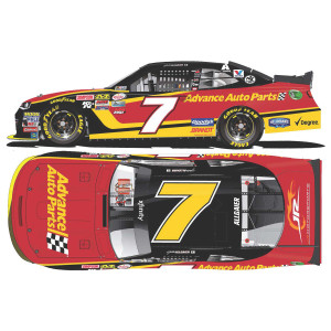 Justin Allgaier 2017 NASCAR XFINITY Series No. 7 Advance Auto Parts 1:64 Die-Cast
