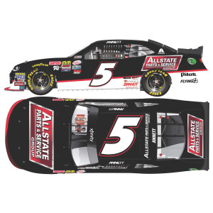 Michael Annett 2017 NASCAR XFINITY Series No. 5 AllState Parts & Service Group Autographed 1:24 Die-Cast