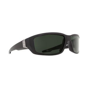 SPY Optic Dirty Mo Black Frame Happy Grey Green Lens