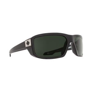 SPY Optic McCoy Black Frame Happy Grey Green Lens