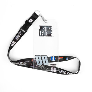 Dale Jr #88 2017 Justice League Lanyard with Credential Holder
