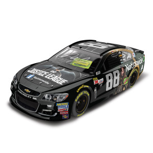 AUTOGRAPHED Dale Earnhardt, Jr. 2017 NASCAR Cup Series No. 88 Nationwide Justice League 1:24 Die-Cast