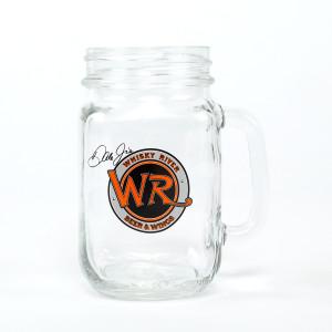 Whisky River Mason Jar