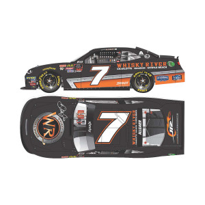 AUTOGRAPHED Justin Allgaier 2018 NASCAR Xfinity Series No. 7 Whisky River HO 1:24 Die-Cast