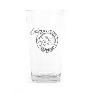 Whisky River Clear Pint Glass
