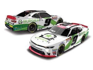 2018 NASCAR #9 Tyler Reddick Xfinity Championship BurgerFi 1:64 Die-Cast