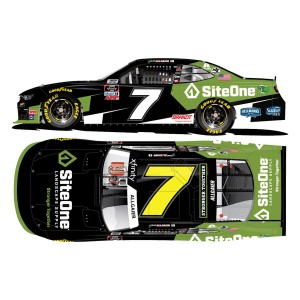 Justin Allgaier #7 SiteOne 2020 NASCAR Xfinity Series Autographed: 1:24 Die Cast