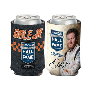 Dale Jr 2021 NHOF Inductee Can Cooler