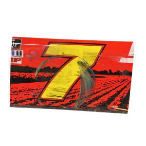 JR Motorsports #7 Race Used Door Panel - Brandt