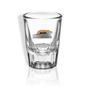 JR Motorsports 2021 Saloon Shot Glass (Pewter crest)