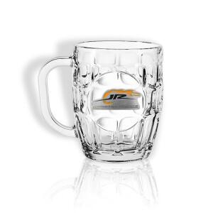 JR Motorsports 2021 Dimpled Beer Mug (Pewter crest)