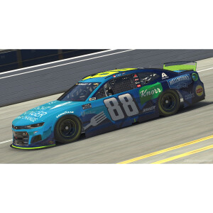 Dale Jr. #88 2021 iRacing Fight Hunger 1:64 Die-Cast
