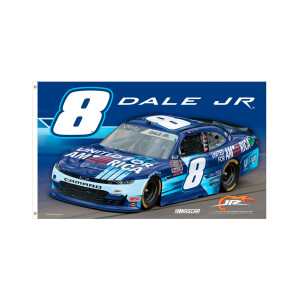 Dale Jr. 2021 United for America 3'x5' one-sided Deluxe Flag